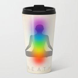 Breathe - Chakras Metal Travel Mug