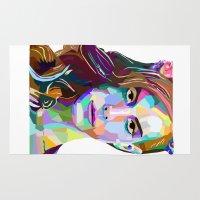 lana Area & Throw Rugs featuring Lana in Color  by AGMPhotos