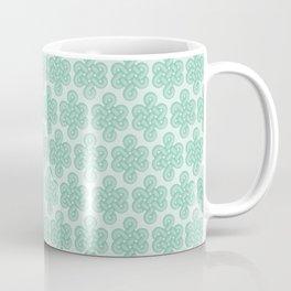 Green Celtic Knot I Coffee Mug