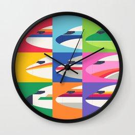 Retro Airline Nose Livery - USA Wall Clock