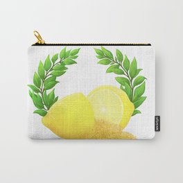 When Life Gives You Lemons, You Paint That **** Gold Carry-All Pouch