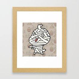 Little Mummy Framed Art Print
