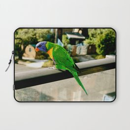 Rainbow Lorikeet Laptop Sleeve