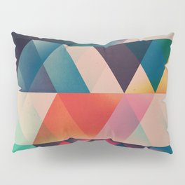 Geometric Abstract: jyst ynyff Pillow Sham