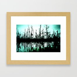 ghost tree I. Framed Art Print