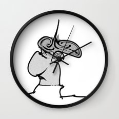 Puffy Dude Wall Clock