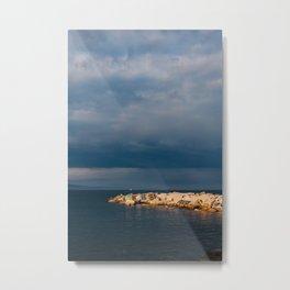 Barcelona Coast V Metal Print