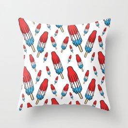 Rocketpop Throw Pillow