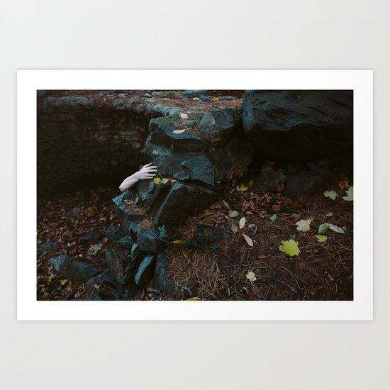 Reaching Out Art Print