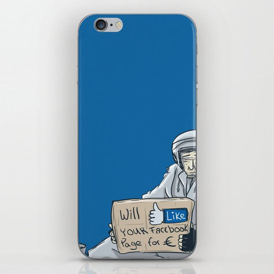 Will like your Facebook page for € iPhone & iPod Skin