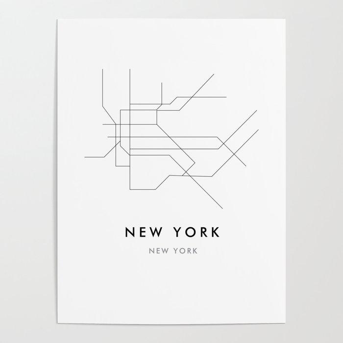 New York City, NY Poster