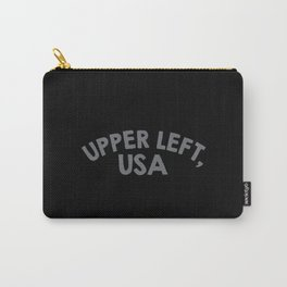 Upper Left, USA Carry-All Pouch