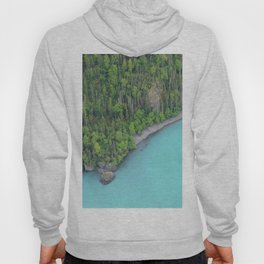 Alaskan Glacier Lake Hoody