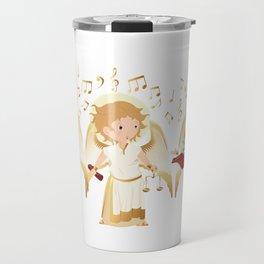 Archangels singing Travel Mug