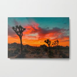 Joshua Tree Parc National Metal Print