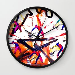 VERDI: The Anvil Chorus      by Kay Lipton Wall Clock