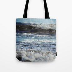 Blue 'tilt' wake Tote Bag