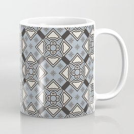 Flower Chain Abstract Seamless Pattern Coffee Mug