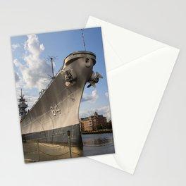 USS Wisconsin Stationery Cards
