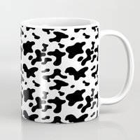 cow Mugs featuring Cow by Cs025