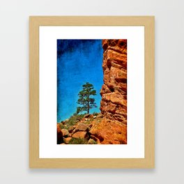 Red Rocks Colorado Framed Art Print