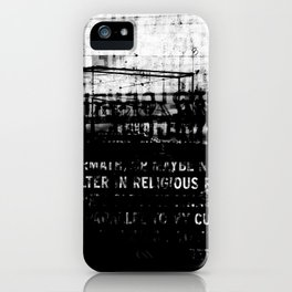 DUPLICITY / 02 iPhone Case