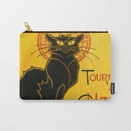 Le Chat Noir The Black Cat Art Nouveau Vintage Carry-All Pouch