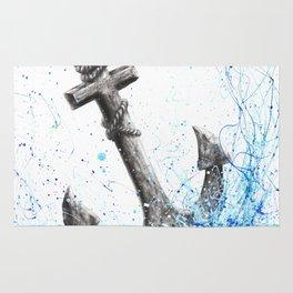 Sea Anchor Rug