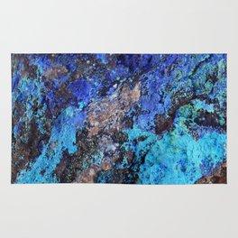 Malachite Mineral Stone rustic decor Rug