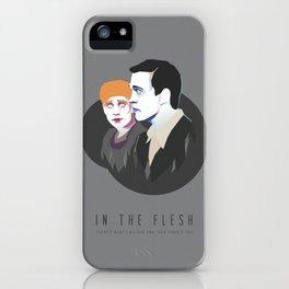 In The Flesh - Kieren & Simon iPhone Case
