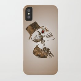 Steampunk Skeleton iPhone Case