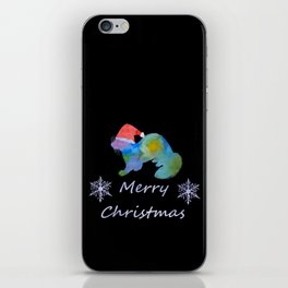 Santa Ferret iPhone Skin