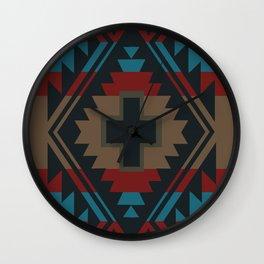 American Native Pattern No. 45 Wall Clock