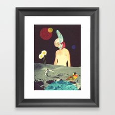 Space Hunt Framed Art Print