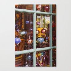 Ornament Window Canvas Print