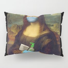 2020 Mona Lisa Pillow Sham