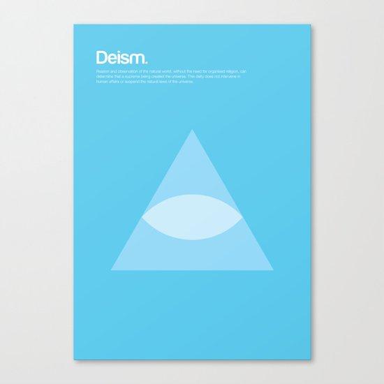 Deism Canvas Print