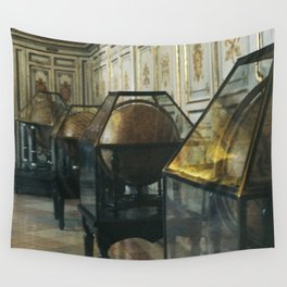 Vintage Globes Wall Tapestry