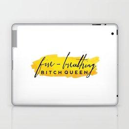 Fire-Breathing Bitch Queen Laptop & iPad Skin