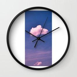 Cloud 07 Wall Clock
