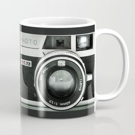 Silver Camera Coffee Mug