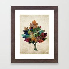 Fall is Back! Framed Art Print