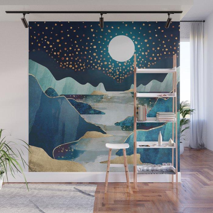 Moon Glow Wall Mural