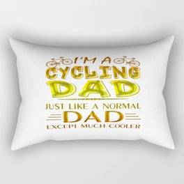 CYCLING DAD Rectangular Pillow