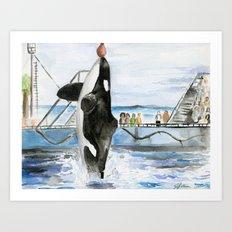 Marine Star Art Print