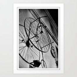 SHADOW CYCLE Art Print
