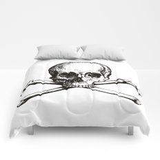 Skull and Crossbones | Jolly Roger Comforters