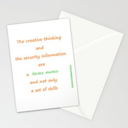 Forma mentis Stationery Cards
