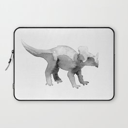 Triceratops / bw. Laptop Sleeve