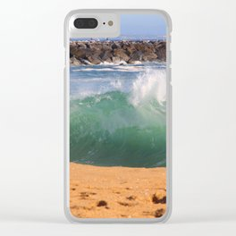 Jacked Up Wedge Clear iPhone Case